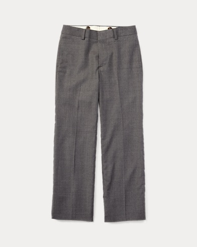 폴로 랄프로렌 남아용 울 바지 라이트 그레이 Polo Ralph Lauren Wool Twill Trouser,Light Grey