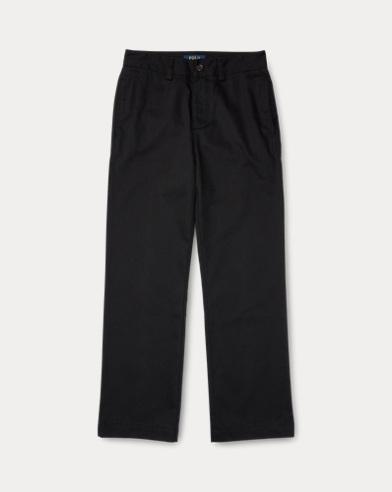 폴로 랄프로렌 보이즈 치노팬츠 Polo Ralph Lauren Wrinkle-Resistant Chino,Polo Black