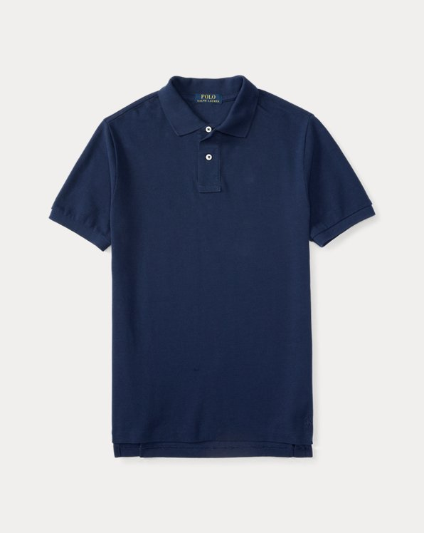 폴로 랄프로렌 보이즈 폴로 셔츠 Polo Ralph Lauren Cotton Mesh Uniform Polo Shirt,Newport Navy