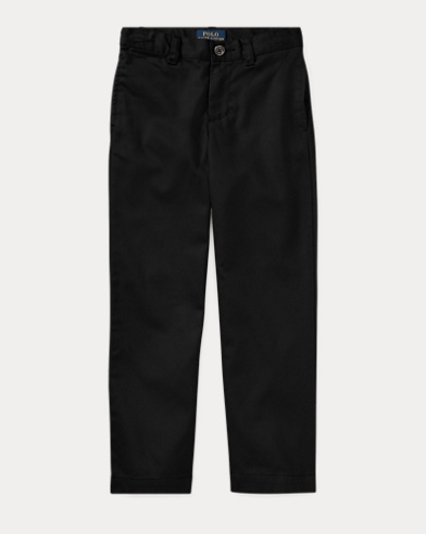 폴로 랄프로렌 남아용 치노 팬츠 블랙 Polo Ralph Lauren Wrinkle-Resistant Chino,Polo Black