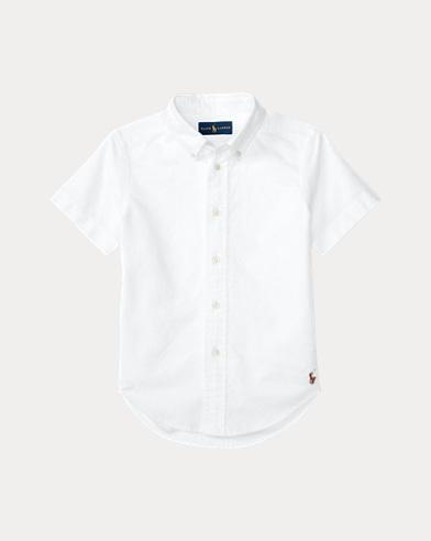 폴로 랄프로렌 셔츠 Polo Ralph Lauren Blake Cotton Uniform Shirt,White