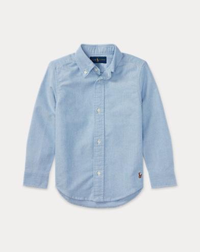 폴로 랄프로렌 남아용 셔츠 블루 Polo Ralph Lauren Blake Cotton Uniform Shirt,r