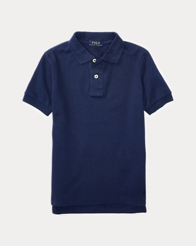 폴로 랄프로렌 남아용 반팔 카라티 네이비 Polo Ralph Lauren Cotton Uniform Polo Shirt,Newport Navy