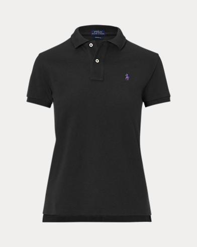 폴로 랄프로렌 Polo Ralph Lauren Classic Fit Mesh Polo Shirt,Polo Black