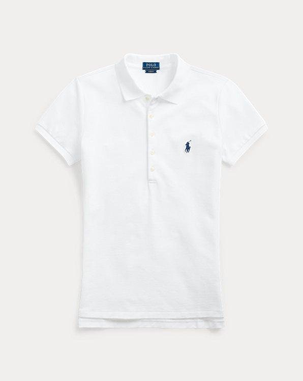 폴로 랄프로렌 Polo Ralph Lauren Slim Fit Stretch Polo Shirt,Paloma Purple