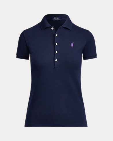 폴로 랄프로렌 Polo Ralph Lauren Slim Fit Polo Shirt,Cruise Navy