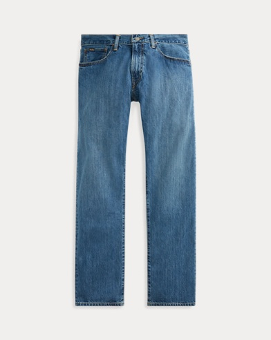 폴로 랄프로렌 Polo Ralph Lauren Hampton Relaxed Straight Jean,Medium Indigo