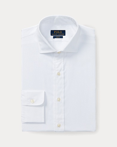 폴로 랄프로렌 슬림핏 셔츠 Polo Ralph Lauren Slim Fit Poplin Shirt,White
