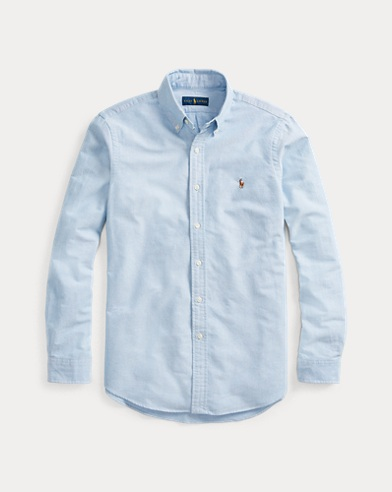 폴로 랄프로렌 Polo Ralph Lauren Classic Fit Oxford Shirt,Blue