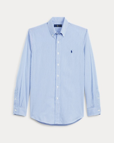 폴로 랄프로렌 Polo Ralph Lauren Classic Fit Striped Shirt,Blue/White