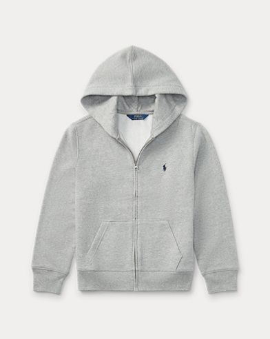 폴로 랄프로렌 Polo Ralph Lauren Cotton-Blend-Fleece Hoodie,Gray
