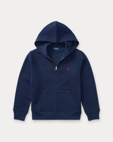 폴로 랄프로렌 Polo Ralph Lauren Cotton-Blend-Fleece Hoodie,Navy