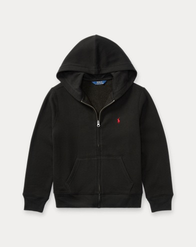 폴로 랄프로렌 Polo Ralph Lauren Cotton-Blend-Fleece Hoodie,Black