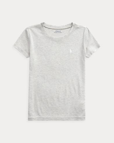 폴로 랄프로렌 걸즈 티셔츠 Polo Ralph Lauren Short Sleeve Tee,Gray