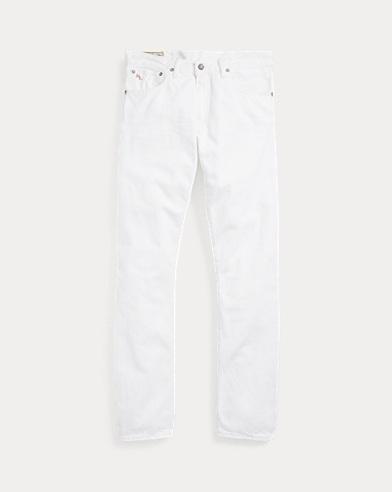 폴로 랄프로렌 Polo Ralph Lauren Varick Slim Straight Jean,White