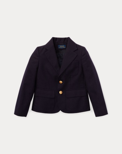 폴로 랄프로렌 여아용 블레이저 Polo Ralph Lauren Wool Blazer,Greenwich Navy