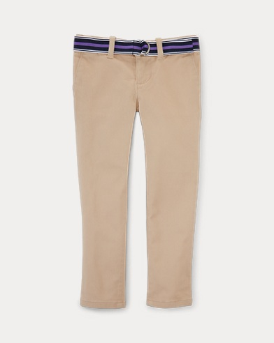 폴로 랄프로렌 여아용 바지 로얄 카키 Polo Ralph Lauren Stretch Cotton Chino Pant,Royal Khaki