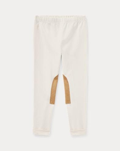폴로 랄프로렌 여아용 레깅스 크림 Polo Ralph Lauren Jodhpur Legging,Essex Cream