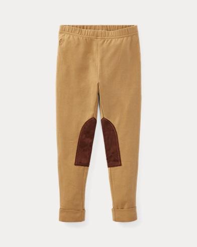 폴로 랄프로렌 여아용 레깅스 밀리터리 Polo Ralph Lauren Jodhpur Legging,Military Drill