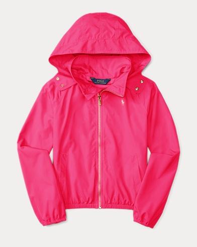 폴로 랄프로렌 Polo Ralph Lauren Hooded Windbreaker,Graphic Pink