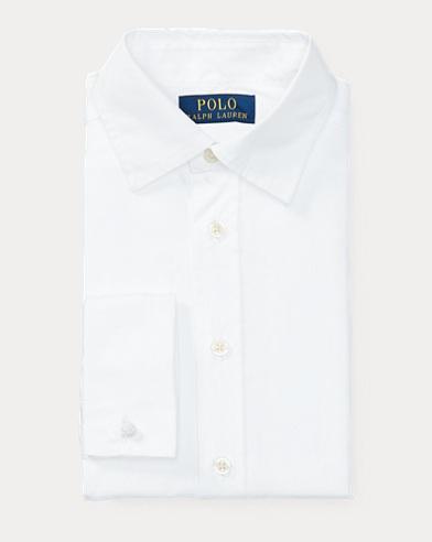 폴로 랄프로렌 보이즈 드레스 셔츠 화이트 Polo Ralph Lauren Cotton Broadcloth Dress Shirt,White