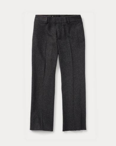 폴로 랄프로렌 남아용 울 바지 다크 차콜 Polo Ralph Lauren Wool Flannel Trouser,Dark Charcoal