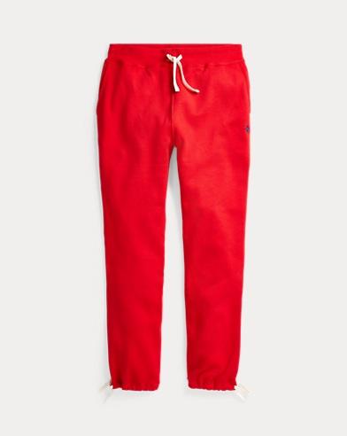 폴로 랄프로렌 조거 팬츠 Polo Ralph Lauren Cotton-Blend-Fleece Pant,Rl2000 Red
