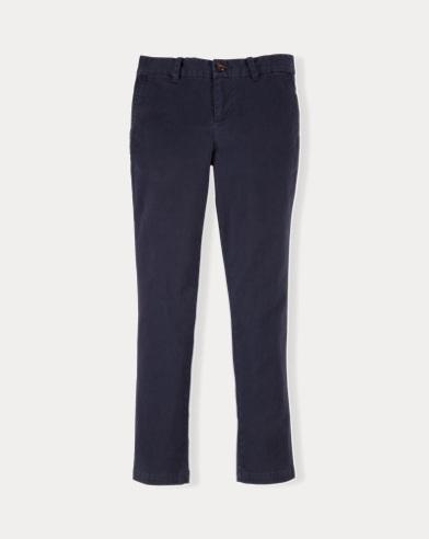 폴로 랄프로렌 여아용 바지 네이비 Polo Ralph Lauren Stretch Cotton Chino Pant,Navy