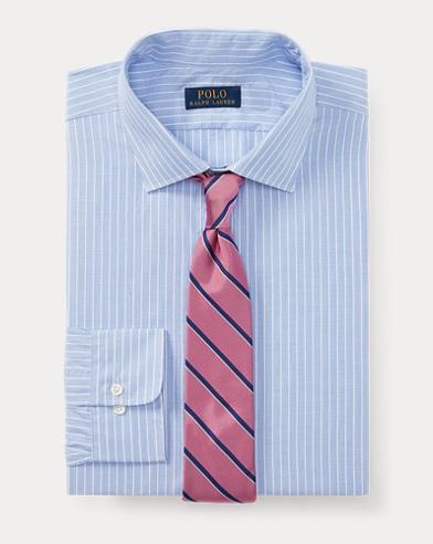 폴로 랄프로렌 클래식핏 스트라이프 셔츠 Polo Ralph Lauren Classic Fit Striped Shirt,Blue/White
