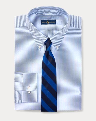 폴로 랄프로렌 Polo Ralph Lauren Classic Fit Striped Shirt,Aero/White