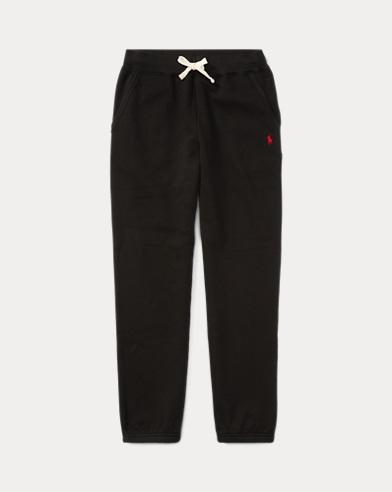 폴로 랄프로렌 남아용 바지 블랙 Polo Ralph Lauren Cotton-Blend-Fleece Pant,Black