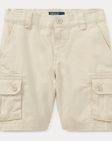 폴로 랄프로렌 남아용 반바지 탄 Polo Ralph Lauren Cotton Chino Cargo Short,Tan