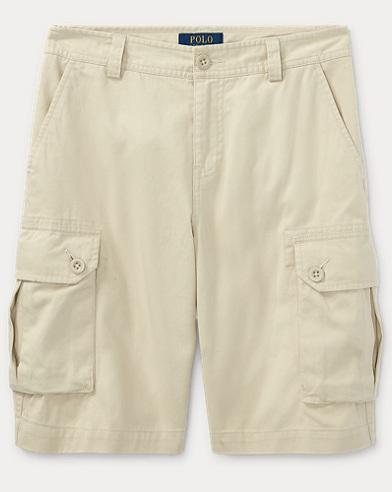 폴로 랄프로렌 Polo Ralph Lauren Cotton Twill Cargo Short,Tan