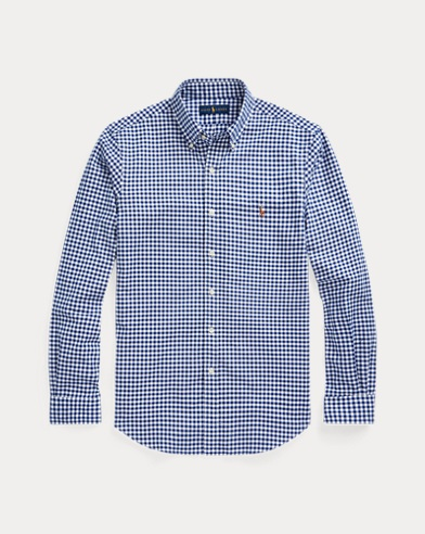 폴로 랄프로렌 Polo Ralph Lauren Slim Fit Gingham Shirt,Bsr Royal/White