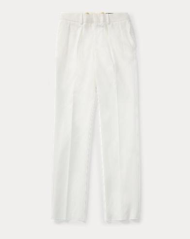 폴로 랄프로렌 Polo Ralph Lauren Wool Gabardine Trouser,Cream