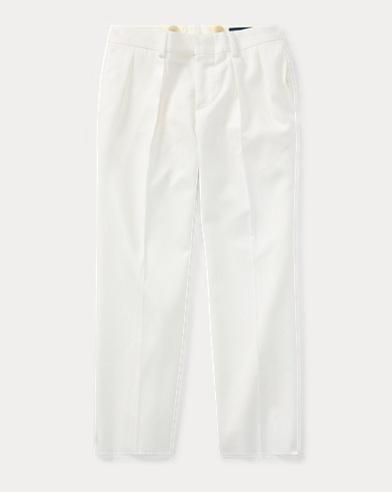 폴로 랄프로렌 남아용 울 바지 크림 Polo Ralph Lauren Wool Gabardine Trouser,Cream