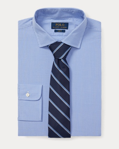 폴로 랄프로렌 슬림핏 셔츠 Polo Ralph Lauren Slim Fit Gingham Shirt,Blue/White