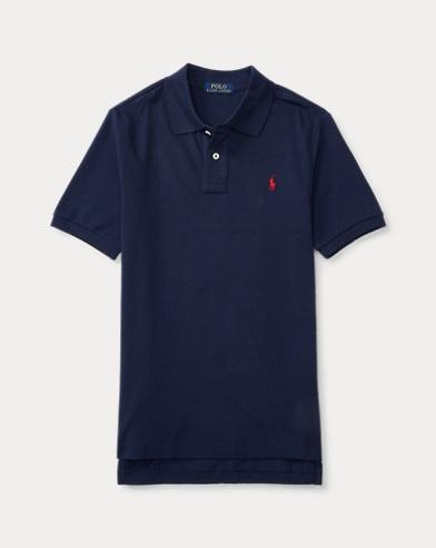 폴로 랄프로렌 보이즈 반팔 카라티 네이비 Polo Ralph Lauren Cotton Mesh Polo Shirt,Navy