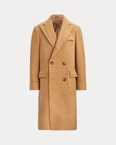 폴로 랄프로렌 클래식 더블 코트 (카멜) Polo Ralph Lauren Polo Camel Hair Coat,Camel