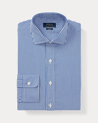 폴로 랄프로렌 슬림핏 셔츠 Polo Ralph Lauren Slim Fit Striped Shirt,1124 Blue/White