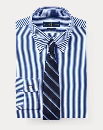폴로 랄프로렌 슬림핏 셔츠 Polo Ralph Lauren Slim Fit Striped Shirt,1124 Blue/White