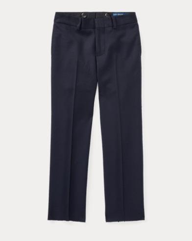 폴로 랄프로렌 남아용 울 바지 네이비 Polo Ralph Lauren Wool Twill Trouser,Navy