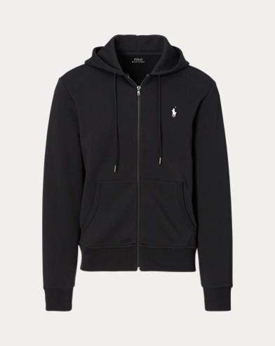 폴로 랄프로렌 더블니트 집업 후드티 블랙 Polo Ralph Lauren Double-Knit Full-Zip Hoodie, Polo Black