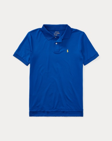 폴로 랄프로렌 보이즈 반팔 카라티 블루 Polo Ralph Lauren Performance Jersey Polo Shirt,Pure Sapphire