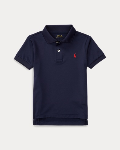 폴로 랄프로렌 남아용 폴로 셔츠 Polo Ralph Lauren Performance Jersey Polo Shirt,French Navy