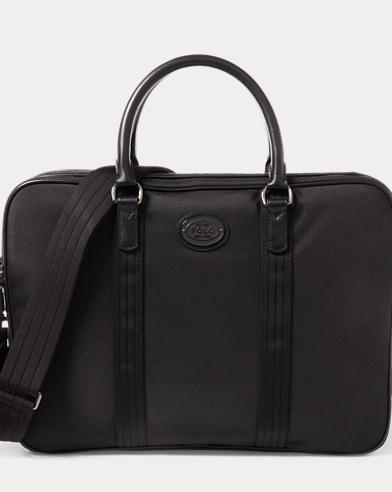 폴로 랄프로렌 노트북 가방 블랙 Polo Ralph Lauren Thompson Briefcase,Black