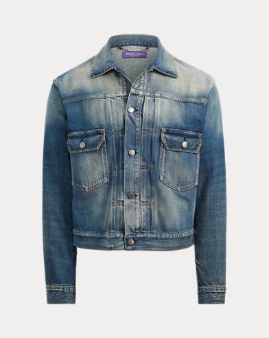 폴로 랄프로렌 Polo Ralph Lauren Slim Denim Trucker Jacket,Del Ray