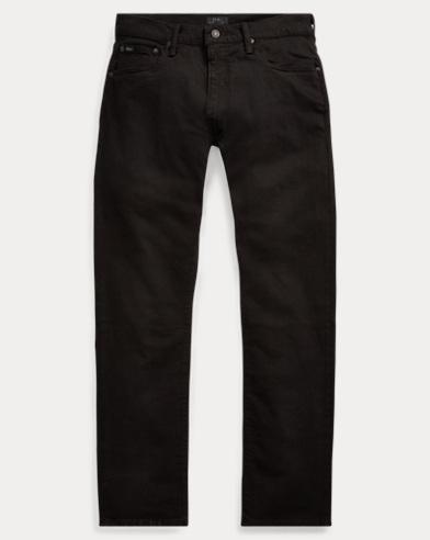 폴로 랄프로렌 스트레이트 청바지 Polo Ralph Lauren Varick Slim Straight Fit Jean,Hdn Black Stretch