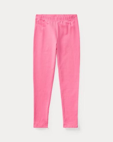 폴로 랄프로렌 레깅스팬츠 Polo Ralph Lauren Bow-Back Jersey Legging,Baja Pink