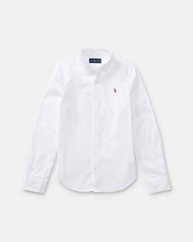 폴로 랄프로렌 Polo Ralph Lauren Cotton Oxford Shirt,White
